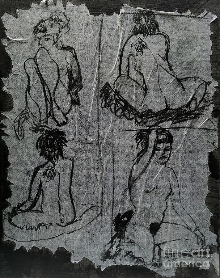 Four muses by Siobhan Dempsey
