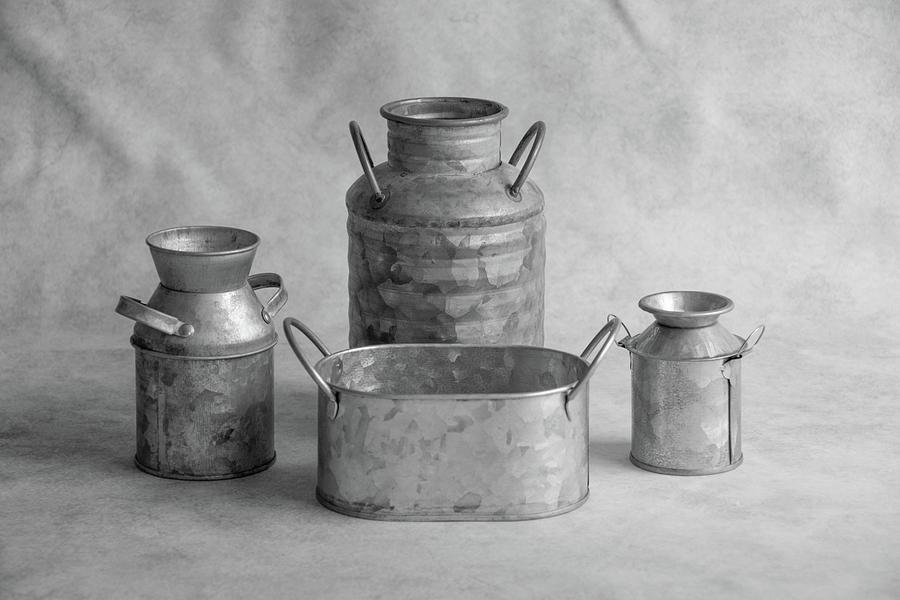 Four Tins by Jennifer Wick