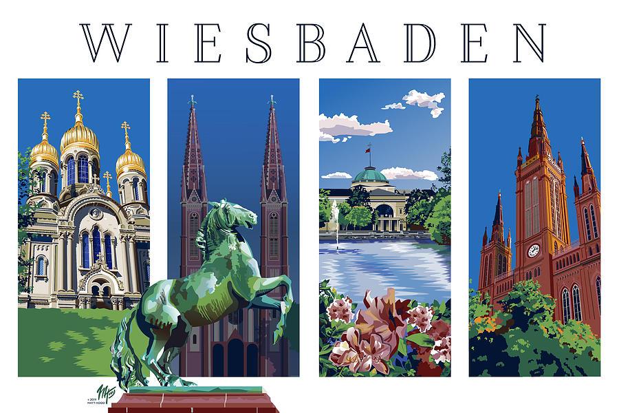 Four Views of Wiesbaden by Matt Hood