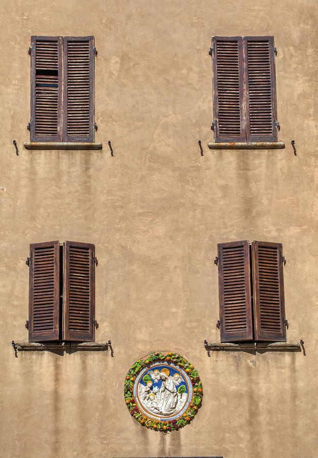Four Windows of Florence by David Letts