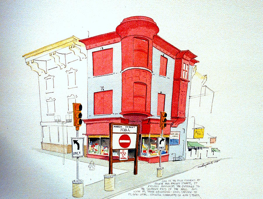 Fourth and Market by William Renzulli