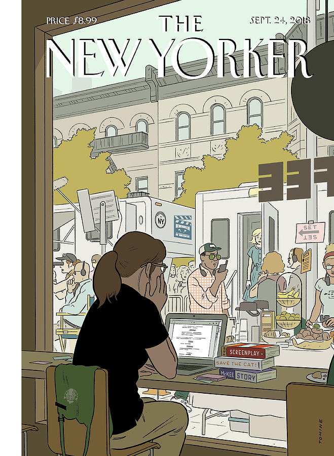 Fourth Wall Painting by Adrian Tomine
