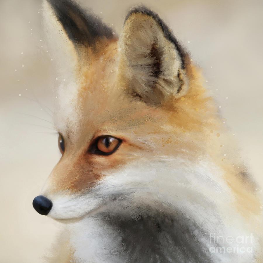 Fox by Anne Vis