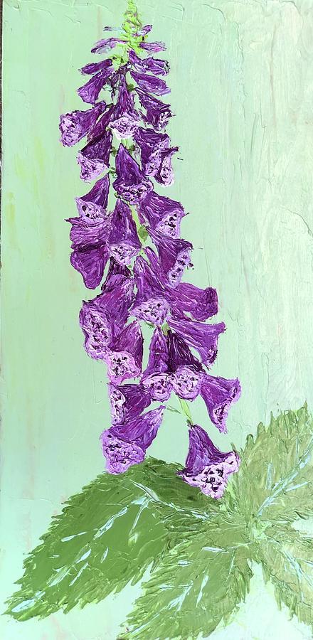 Foxglove I Love by Julene Franki