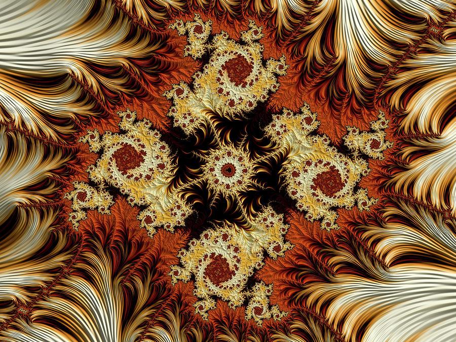 Fractala Mandala Digital Art