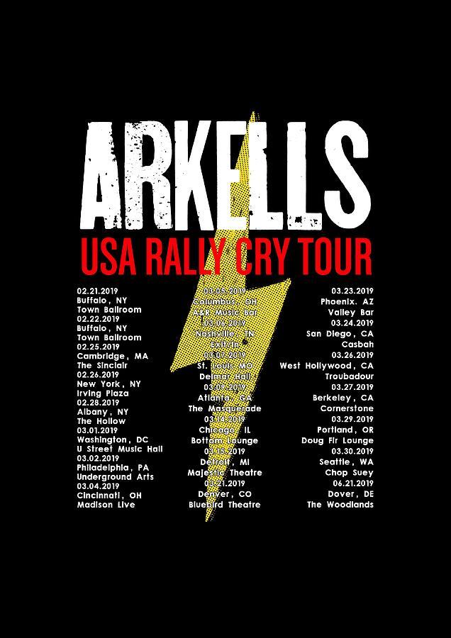 Frame Art Tour Dates Arkells Usa Rally Cry 2019