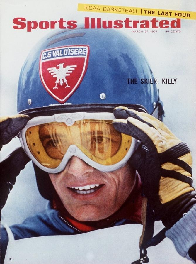 France Jean-claude Killy, 1967 North American Skiing Sports Illustrated Cover Photograph by Sports Illustrated