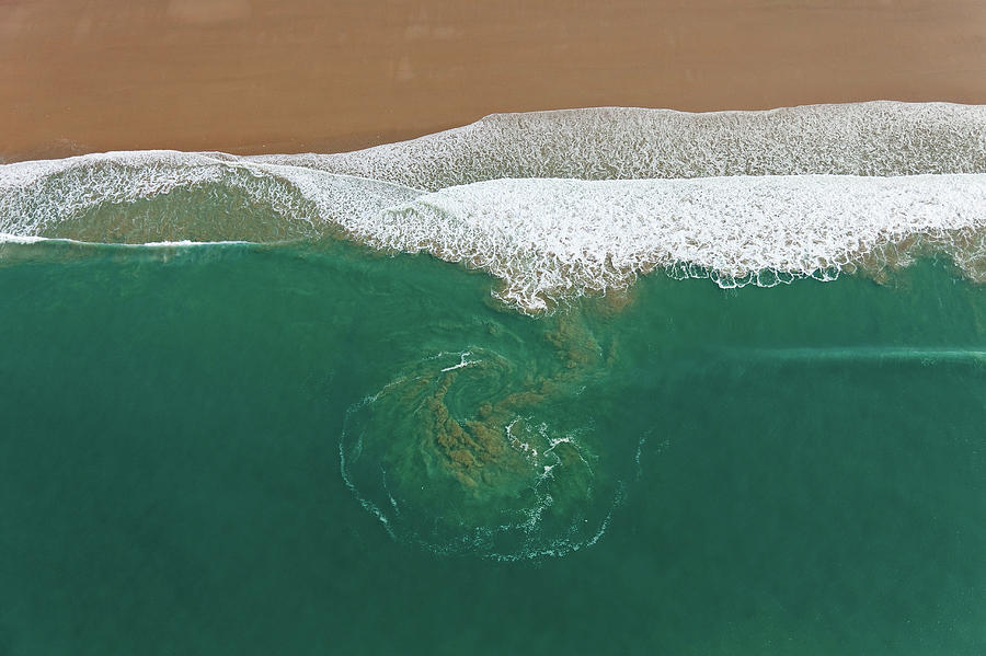 France, Manche, Baubigny, Beach, Tidal Photograph by Cormon Francis / Hemis.fr