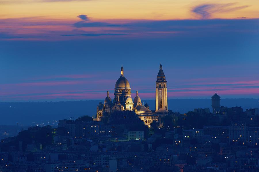 France, Paris, Montmartre And Sacre Photograph by Tuul & Bruno Morandi