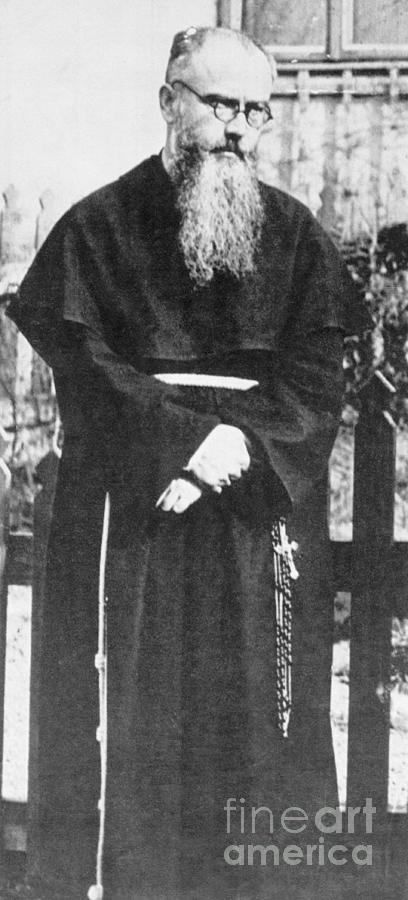 Franciscan Martyr Saint Maximilian Kolbe Photograph by Bettmann