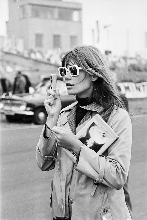 Francoise Hardy Photograph by Victor Blackman