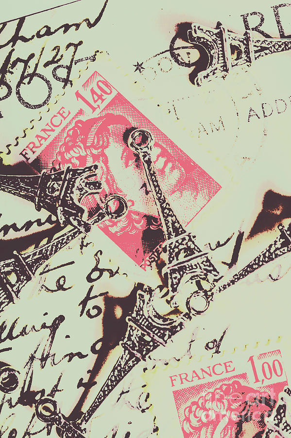 French Photograph - Francs Script by Jorgo Photography - Wall Art Gallery
