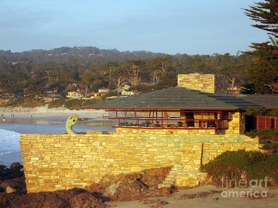 Carmel Photograph - Frank Lloyd Wright House by James B Toy