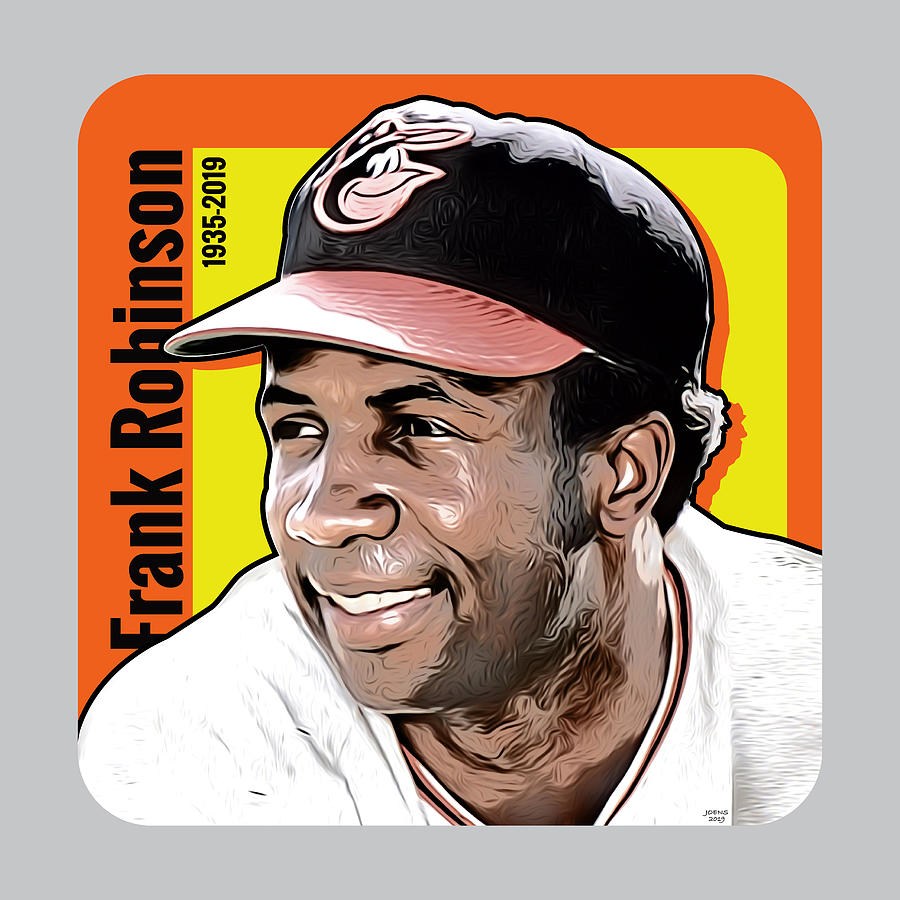 Frank Robinson Tribute Digital Art