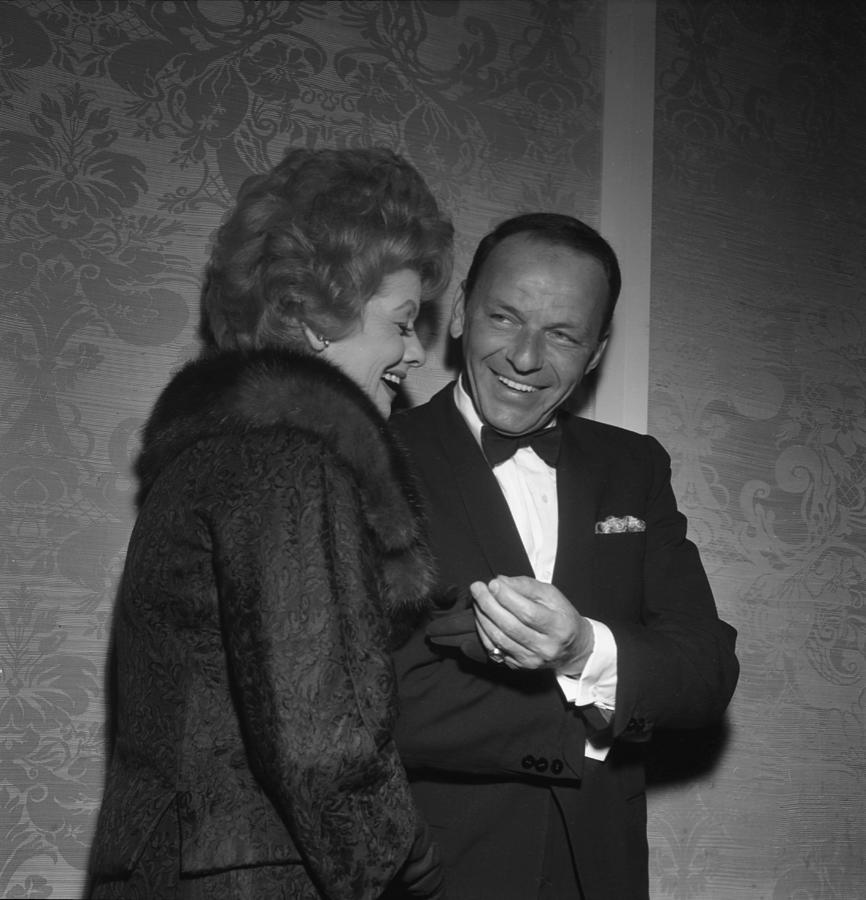 Frank Sinatra And Lucille Ball Photograph by Michael Ochs Archives