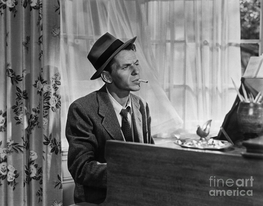 Frank Sinatra As Barney Sloan In Young Photograph by Bettmann