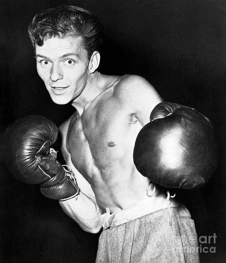 Frank Sinatra In Boxing Pose Photograph by Bettmann