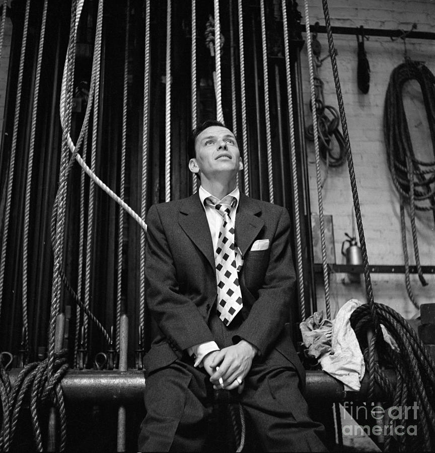 Frank Sinatra Show Photograph by Cbs Photo Archive
