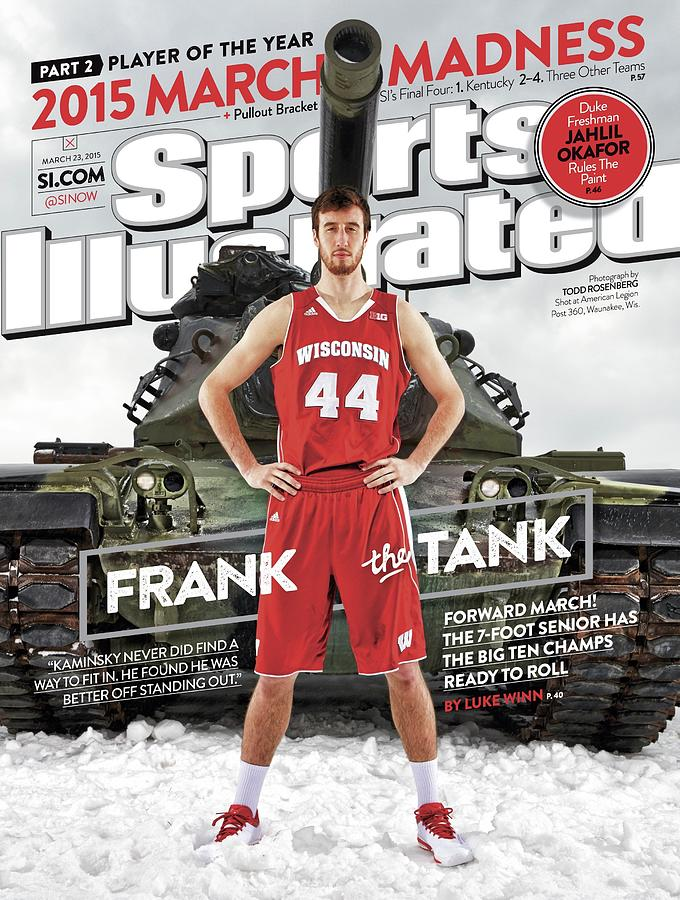 Frank The Tank 2015 March Madness College Basketball Sports Illustrated Cover Photograph by Sports Illustrated