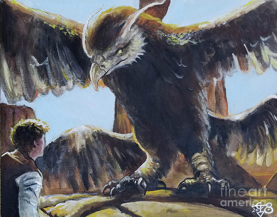 Frank the Thunderbird by Tom Carlton