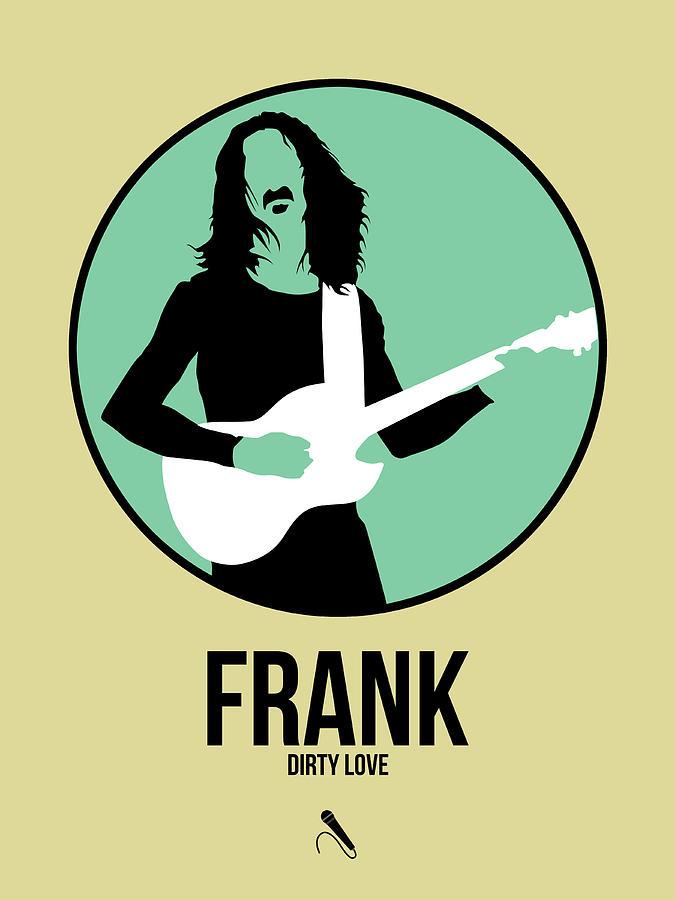 Frank Zappa Digital Art - Frank Zappa by Naxart Studio