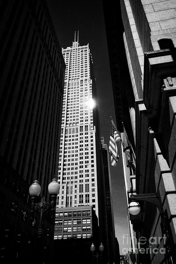Chicago Photograph - Franklin Center The Former At T Corporate Center Chicago Illinois United States Of America by Joe Fox