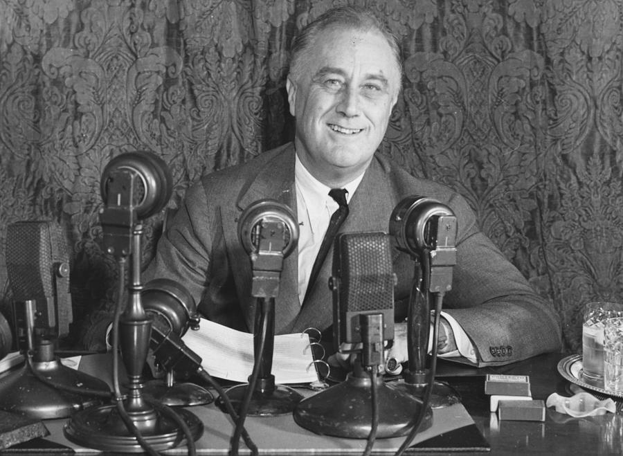 Franklin D Roosevelt Photograph by Central Press