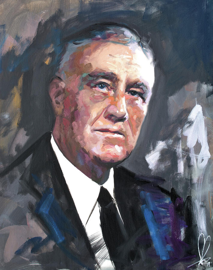 Franklin D Roosevelt by Richard Day