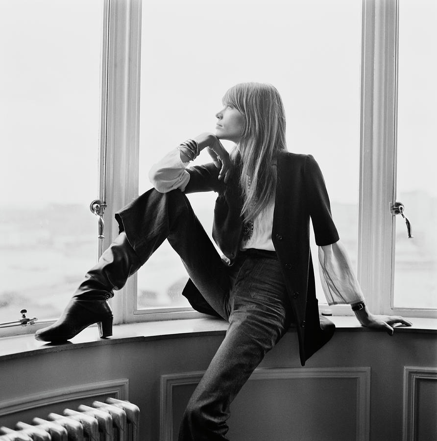 Françoise Hardy Photograph by David Cairns
