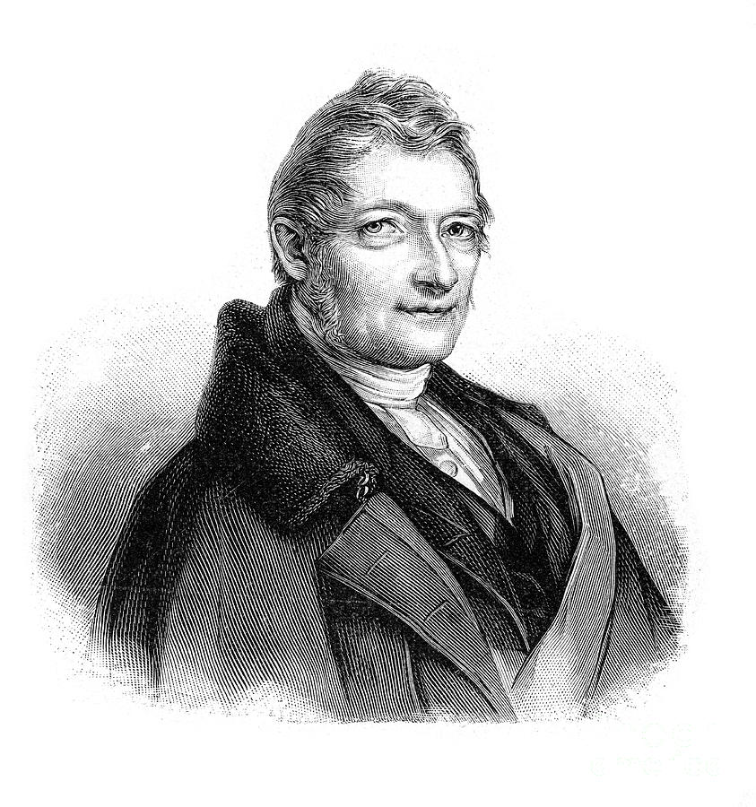 Franz Xaver Gabelsberger, German Drawing by Print Collector