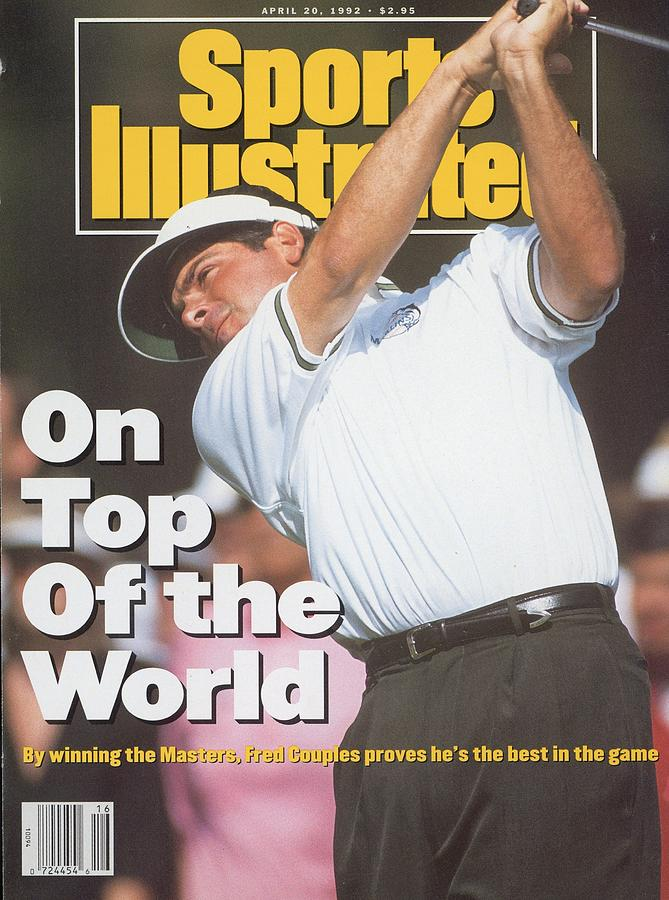 Fred Couples, 1992 Masters Sports Illustrated Cover Photograph by Sports Illustrated