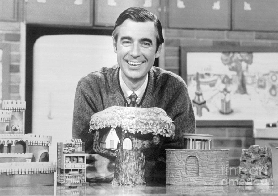 Fred Rogers On Mister Rogers By Bettmann