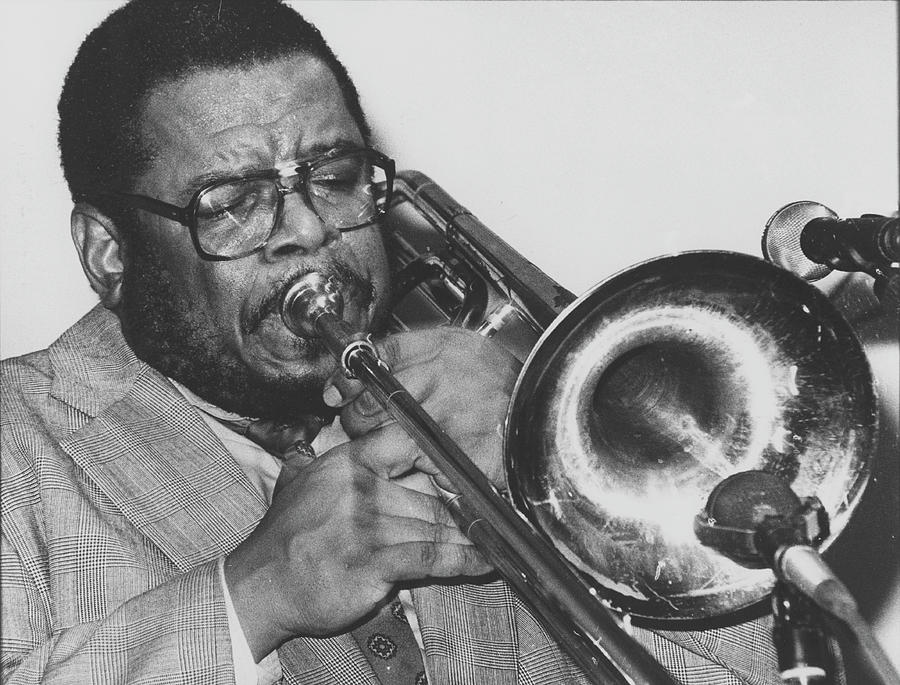 Fred Wesley Camden Jazz Cafe 1995 Photograph by Martyn Goodacre