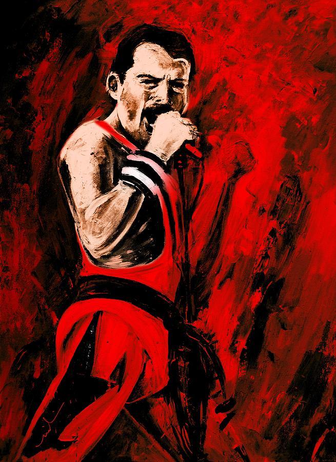 Freddie Mercury 03 Game by Miki De Goodaboom
