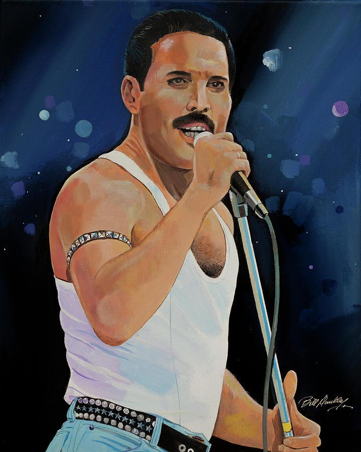 Freddie Mercury by Bill Dunkley