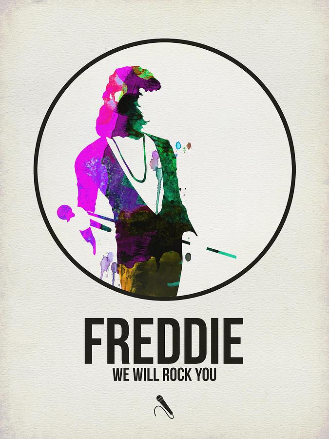 Freddie Mercury Digital Art - Freddie Mercury II by Naxart Studio
