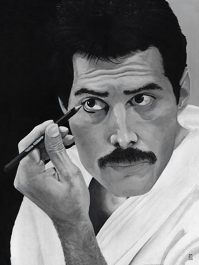 Freddie Mercury by Matthew Mezo