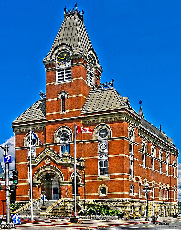 Fredericton City Hall by Carol Randall