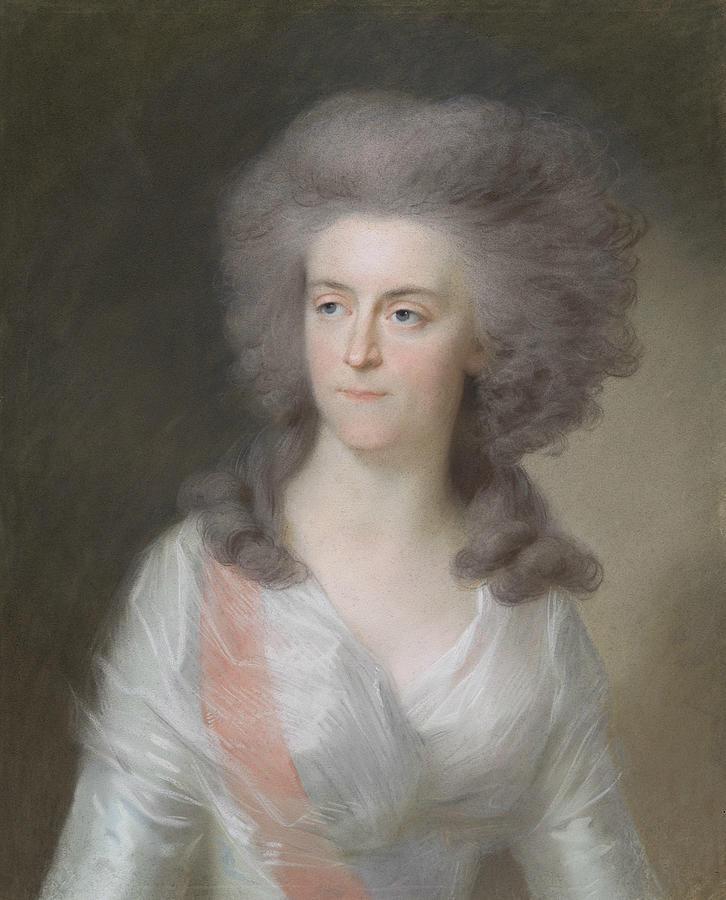 Frederika Sophia Wilhelmina    by Johann Heinrich Tischbein