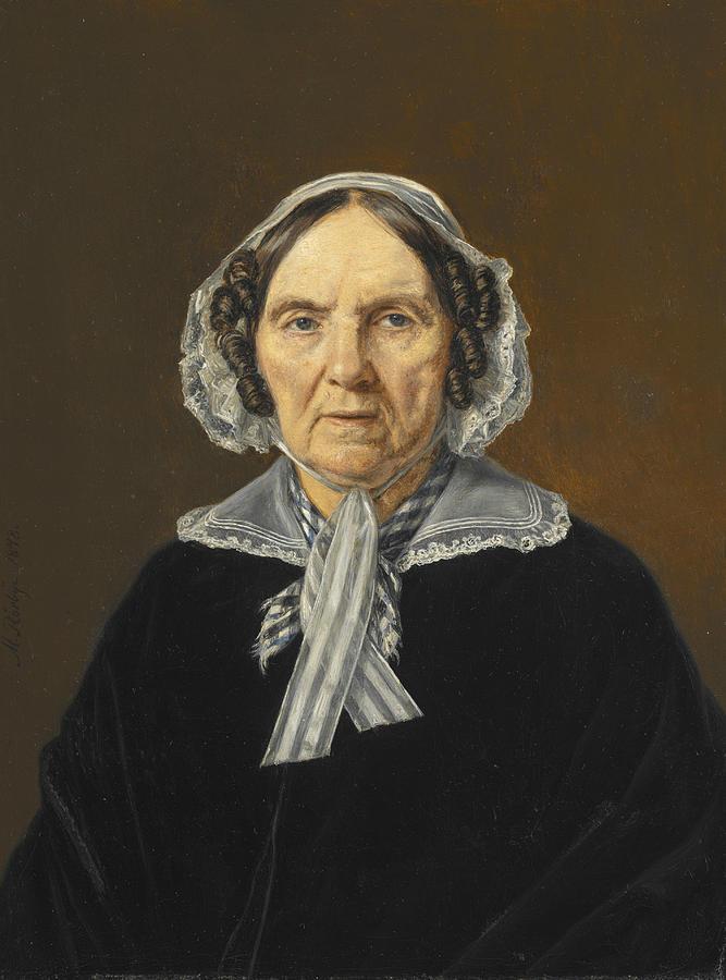 Frederikke Eleonora Cathrine Rorby by Martinus Rorbye