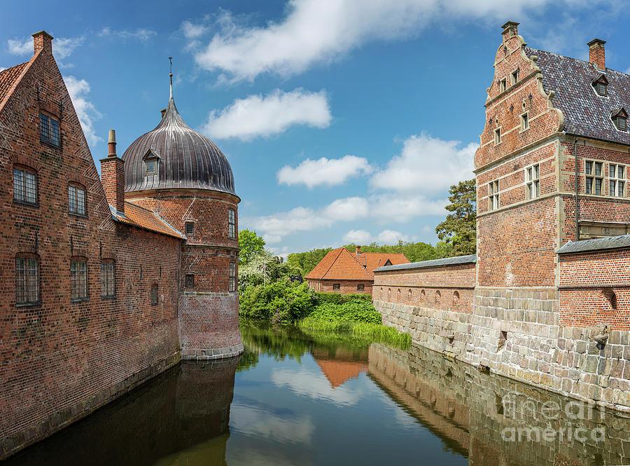 Frederiksborg castle moat Denmark by Sophie McAulay