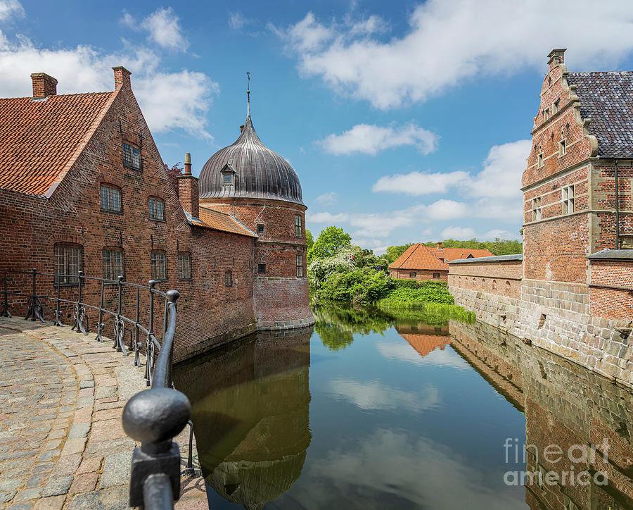 Frederiksborg castle moat Hillerod Denmark by Sophie McAulay