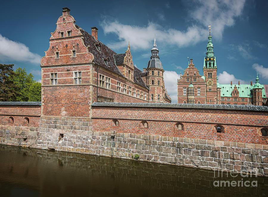 Frederiksborg renaissance castle Hillerod by Sophie McAulay