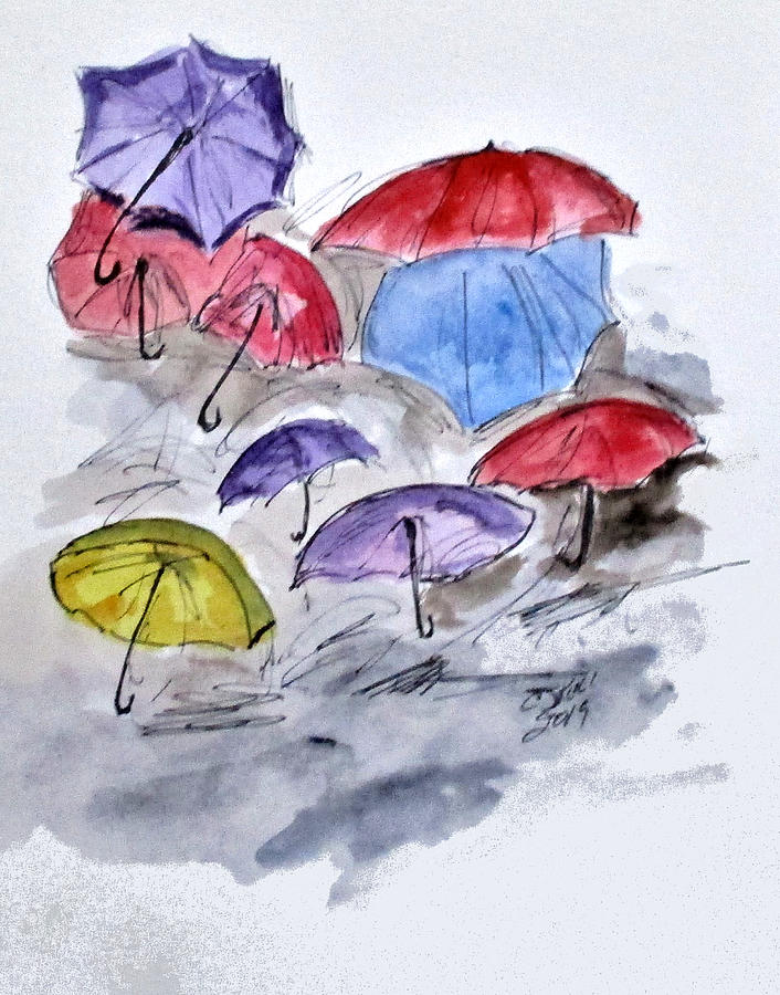 Free Umbrellas by Clyde J Kell
