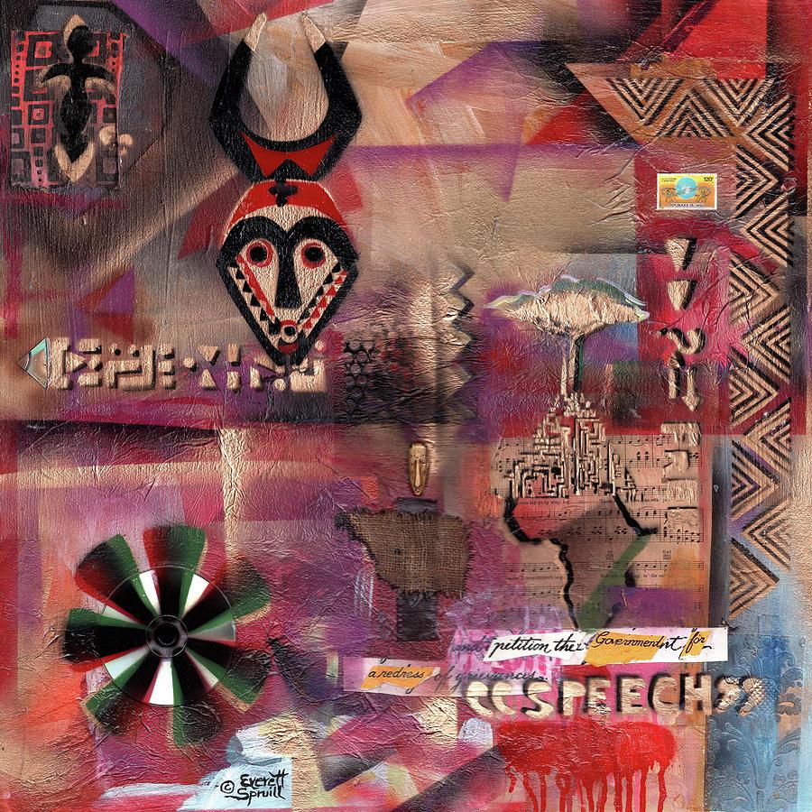 Freedom of Speech - Omega by Everett Spruill