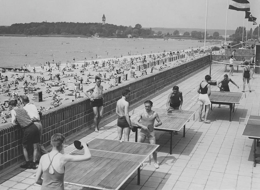 Freibad Wannsee Photograph by Fpg