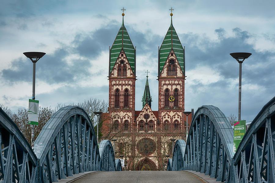 Freiburg Wiwili-bridge Photograph