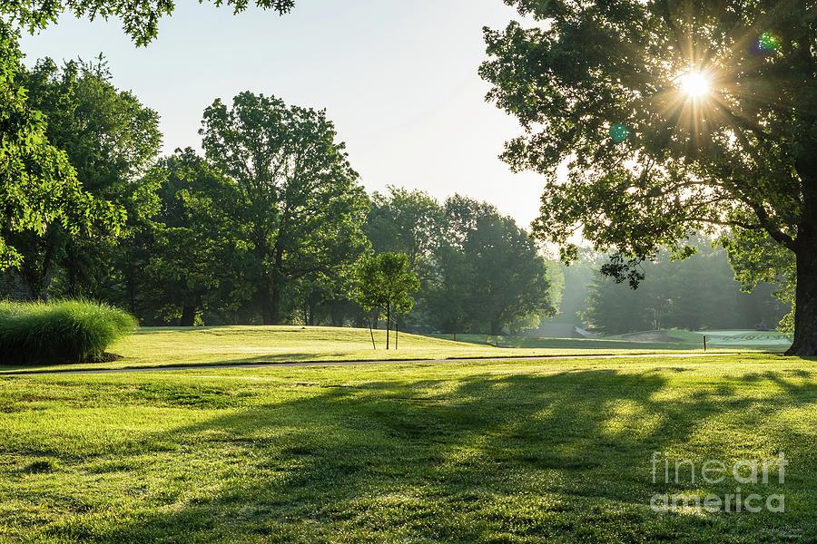 Fremont Hills Golf Course Morning by Jennifer White