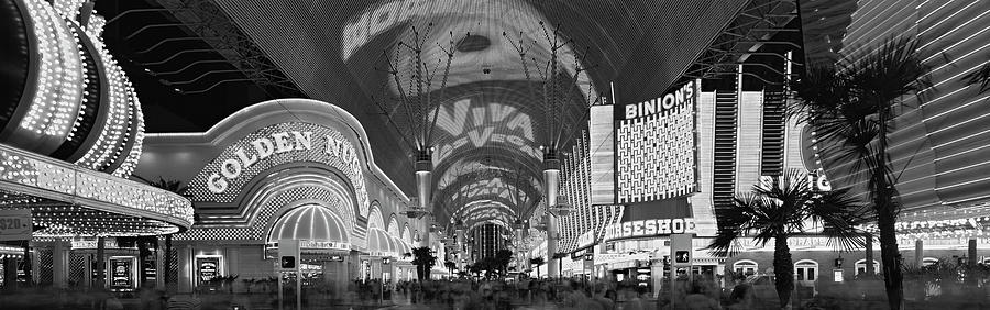 Horizontal Photograph - Fremont Street Experience, Las Vegas by Panoramic Images