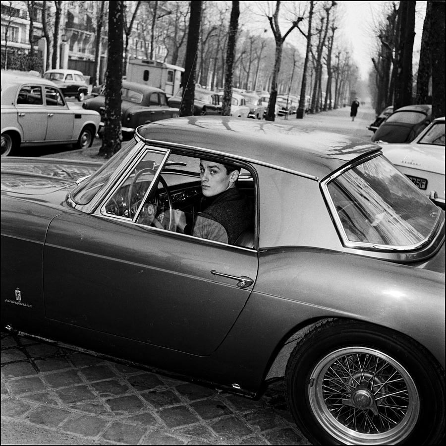 French Actor Alain Delon Photograph by Giancarlo Botti